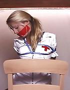 Nurse Bound in Chair
