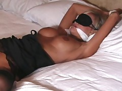 A special treat on Cory. Secretary bondage, taken to the bedroom. All the..