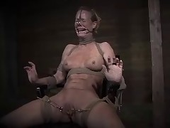 Simone Sonay said she loves to be tied down and rough fucked. She thought that..