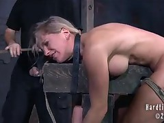 Dia is a bondage slut who loves to get hurt. PD is the perfect man to give her..