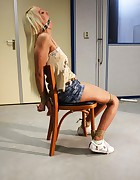 Valeri chair-tied