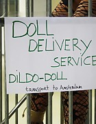Doll Delivery Service: Dildo Doll