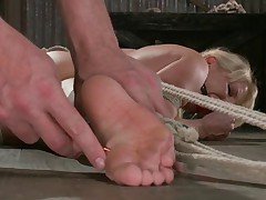 Ashley is known around the bondage world as a strict Fem Domme, but today she..