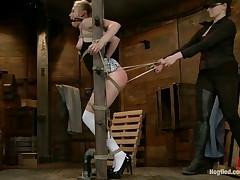 From a religious rearing, Tracey is fascinated with the philosophy of bondage...
