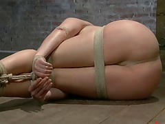 Welcome both Ashlynn and Odile to HogTied. Both bitches are up for a hard..