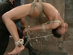 Extreme bondage and strap on fucking-live! Not only is Nikki Darling hot,..