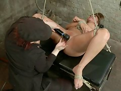 Hot, horny MILF Ava wants it so bad she is willing to do anything Claire wants..