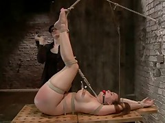 Welcome Chanel back to HogTied. In this update, she is given unpleasant but..