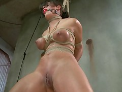 Hard bodied, MILF slave Penny Barber shows up to be punished and have her pain..