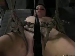 Veruca James receives an introduction to rope bondage and submission. After..