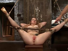 Two for one today on HogTied! These two gorgeous girls are tied, gagged,..
