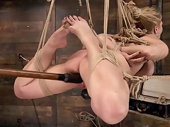 Hard core bondage fans know who Carissa Montgomery is. And if not, this is the..