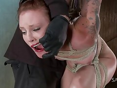 Sahara Rain is back to Sadistic Rope for another round of brutal torment. She..