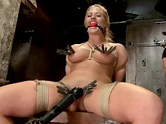 Gorgeous big tit blonde Holly Heart is BACK as a hot fucking MILF! Recorded..