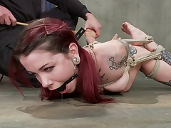 Krysta Kaos is a sexy tattooed alt slut who is here for SadisticRopes's..
