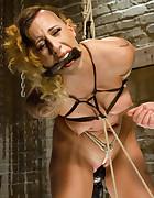 Bondage Babe in Brutal Bondage