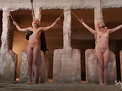 We have two all natural, tall, hot blondes that are begging to get punished...