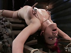 Iona Grace was featured in SadisticRope's April live show, and this is the..