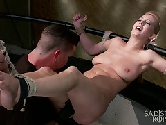 Cherry Torn makes every bondage shoot a challenge for both her and anyone..