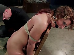 Savannah Fox is a closet pain slut. It's clear that she is kinky, but the..