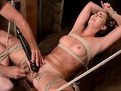 Newcomer Bianca Breeze signs up for HogTied and gets more than she bargained..