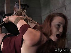 Bella Rossi has never been tied up by Jack Hammer. How the two of them have..