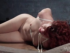Ingrid Mouth is brand new to shooting bondage porn. In her first shoot ever,..