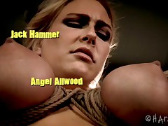 Angel Allwood needs a place to get her rope bondage fix. There is no place..