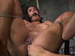 One working over was not enough for this greedy MILF. Penny Barber is..