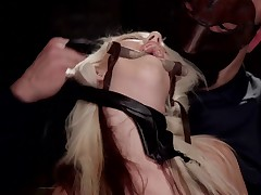 HogTied brings you the hottest babes first - All natural big tit blonde babe..