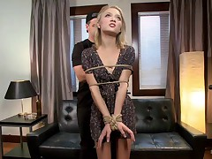 A role play fantasy where Dakota Skye plays a naive model that visits a creepy..