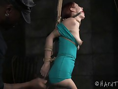 Violet Monroe has her dreams dominated by intense fantasies of being tied up..