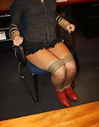 Secretary tied to chair, pic #11