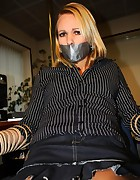 Secretary tied to chair, pic #10