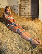 Natalie all taped up, pic #6