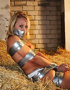 Natalie all taped up, pic #9