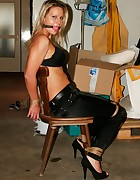 Samantha chair-tied, pic #1
