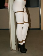 Emma pole-tied tapegagged tit-grabbed, pic #6