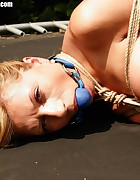Cory hogtied, pic #8
