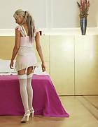 Brigitta gets tied, pic #1