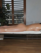 Naked oily girl tied, pic #13
