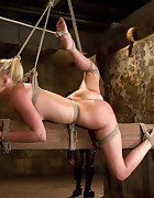 HOT girl next door in unforgiving bondage., pic #7