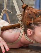 An ankle to hair only suspension, pic #11