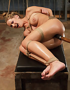Beauty Bound in Overwhelming Orgasms, pic #5