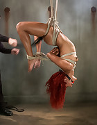 Newbie First Time in Brutal Rope Bondage, pic #6
