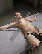 Bailey Blue endures extreme bondage, pic #13