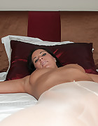 Athina tied and fingered to orgasm, pic #4