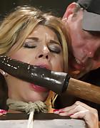 Bit Tit MILF in Extreme Bondage, pic #2