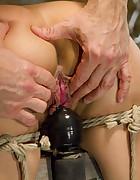 Bondage Babe in Brutal Bondage, pic #12