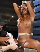 Ebony Slut Begs for Brutality, pic #14